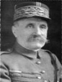 Foch FERDINAND 2 octobre 1851 - 20 mars 1929