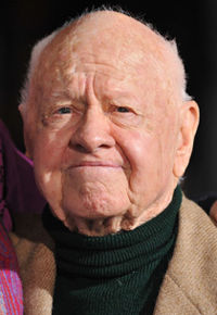 Mickey Rooney 23 septembre 1920 - 6 avril 2014