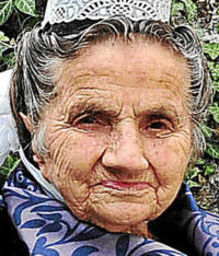 Mort : Maria Lambour 2 septembre 1911 - 20 octobre 2014