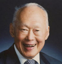 Lee Kuan Yew 16 septembre 1923 - 23 mars 2015