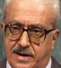 Mémoire : Tarek AZIZ 28 avril 1936 - 5 juin 2015
