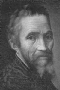 Michel-Ange  6 mars 1475 - 18 février 1564
