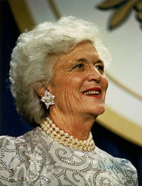 Barbara Bush 8 juin 1925 - 17 avril 2018