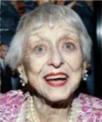Funérailles : Celeste HOLM 29 avril 1917 - 15 juillet 2012