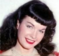 Inhumation : Bettie PAGE 22 avril 1923 - 11 décembre 2008