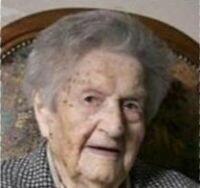 Clémentine SOLIGNAC 7 septembre 1894 - 25 mai 2008