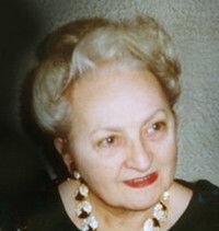 Yvonne LORIOD 20 janvier 1924 - 17 mai 2010