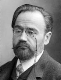 Emile ZOLA 2 avril 1840 - 29 septembre 1902
