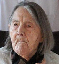 Marcelle NARBONNE 25 mars 1898 - 1 janvier 2012