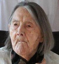 Décès : Marcelle NARBONNE 25 mars 1898 - 1 janvier 2012