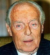 Décès : Guy de ROTHSCHILD 21 mai 1909 - 12 juin 2007